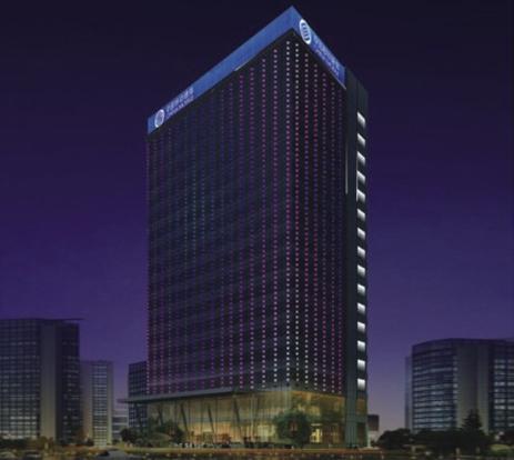 河南郑州中国移动大楼亮化工程