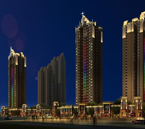 谈谈城市户外亮化的夜景亮的重要作用