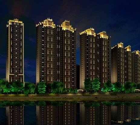 led景观亮化工程塑造城市的美