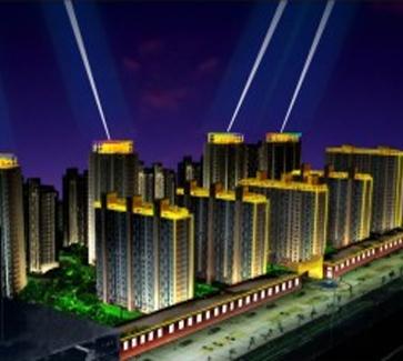 仿古建筑工程暖白光LEDled洗墙灯城市亮化